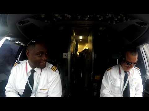 Embraer 175 Toronto depature