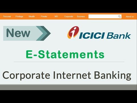 #5 How To Get E - Statements of ICICI Corporate Banking | View/Download E-Statements - Somesh Gupta