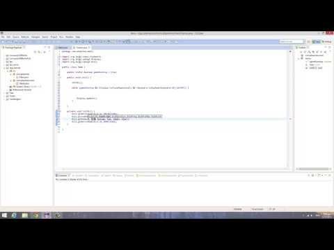 Java/LWJGL - Create A 2D MMORPG (Part 1 - Set up).