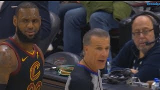 LeBron James Curses at Refs After Getting Frustrated with Bad Calls!