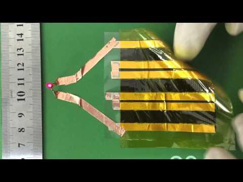 High Performance Flexible Supercapacitor based on Graphene