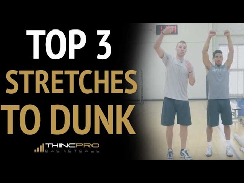 Top 3 Stretches to DUNK in Basketball (Increase Your Vertical Jump)