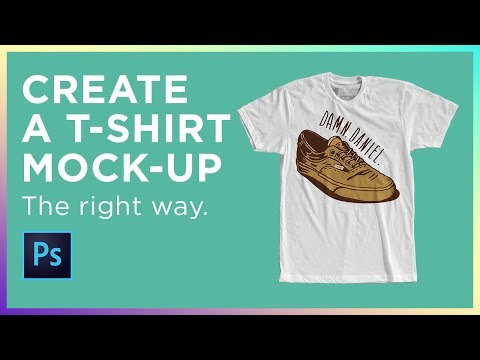 How to Create a T-shirt Mockup