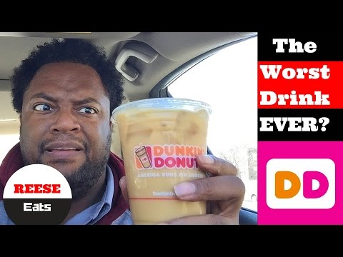 Dunkin Donuts Raspberry Iced Coffee (The Worst One Yet?)