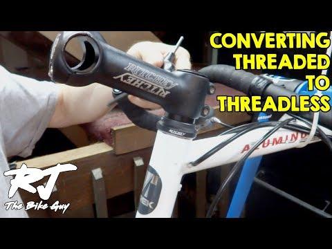 Threaded To Threadless Headset/Fork Upgrade On Vintage Road Bike