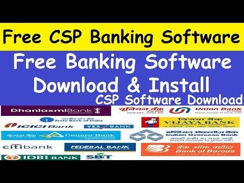CSP Banking Software l KIOSK BANKING SOFTWARES l SBI Kiosk Banking Software Free Download
