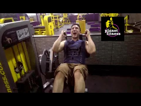 Planet Fitness review (blasting abs with Richard)