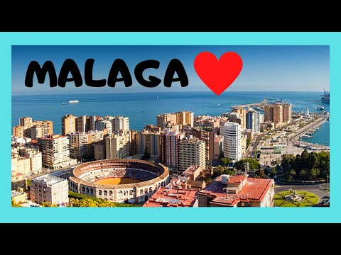 MALAGA, the historic CITY CENTRE of this beautiful city, SPAIN