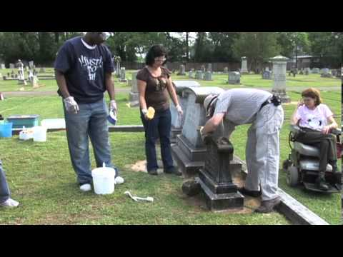 Preserve America- Gravestone Cleaning Workshop  With Jason Church