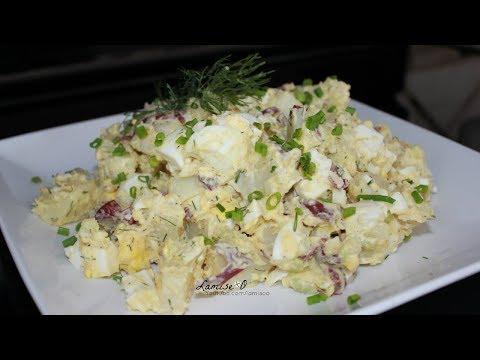 Easy Potato Salad Recipe | Potato Salad | Episode 140