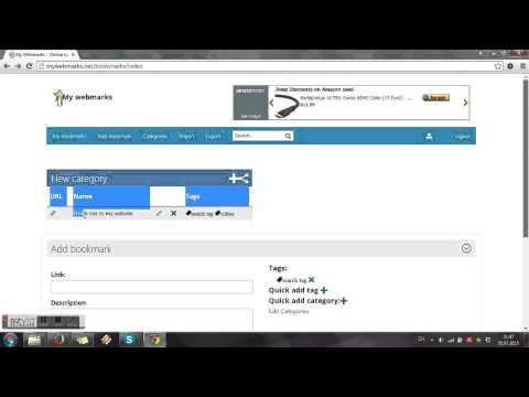 My webmarks | Online bookmarks