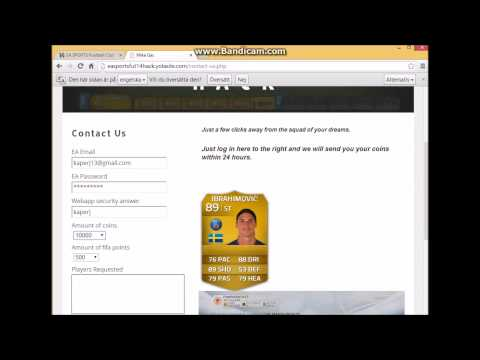 Fifa 14: Ultimate team Hack Free coins players and fifa points!!!