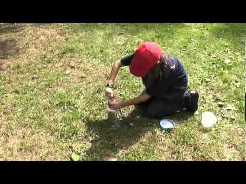 baking soda and vinegar rocket part2