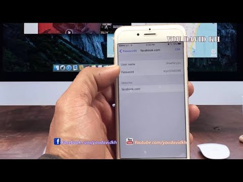 How to Remove Password Save In Safari On iPhone
