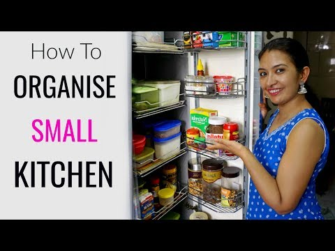 How To Organise SMALL Kitchen | Kitchen Tour | CookWithNisha