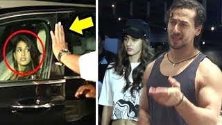 Tiger Shroff's Gf Disha Patani Gets Harassed By Media At Airport Returning From Baaghi 2 Promotions