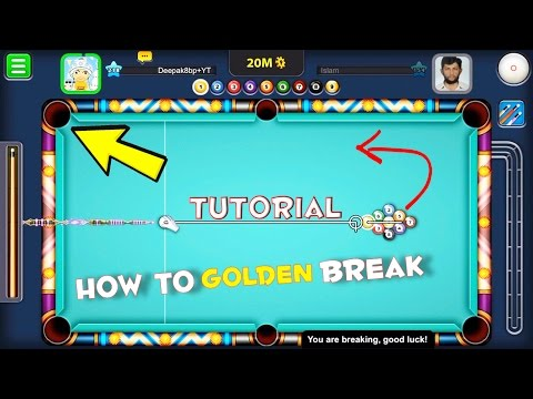 8 Ball Pool How To Golden Break 9 Ball Tutorial! How To Win in First Shot Tutorial! Miami Trickshots