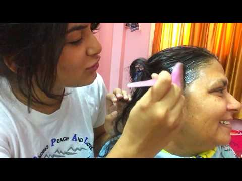 HOW TO COVER GREY HAIR AT HOME USING GARNIER NATURALS (TIPS & DEMONSTRATION)