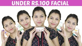 how to do facial at home step by step/UNDER RS 100 FACIAL/INDIANGIRLCHANNEL TRISHA