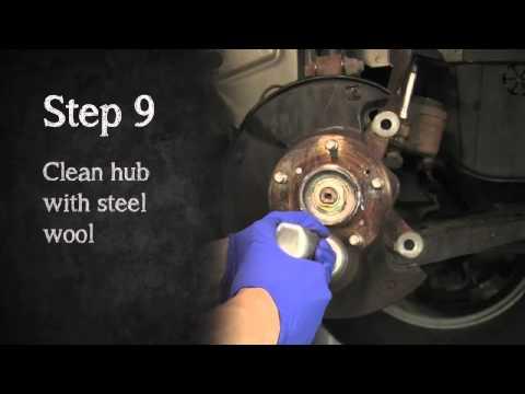2006 - 2011 8th Generation Honda Civic Brake Pad Install HD DIY