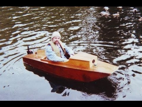 Plywood electric boat