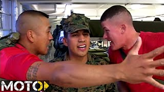 USMC Boot Camp: Fire Watch Incorrectly Reporting His Post