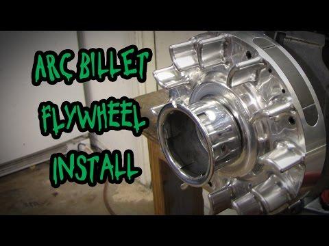 Arc Billet Aluminum Flywheel: How To Install