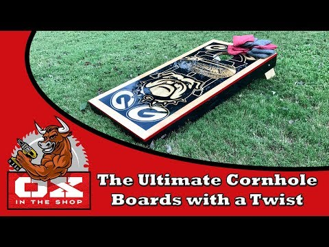 The Ultimate Cornhole Boards, How to make