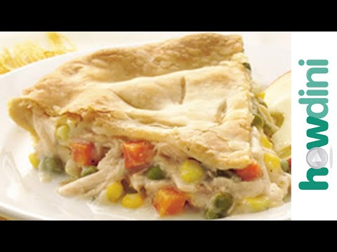 Chicken pot pie recipe - How to make chicken pot pie
