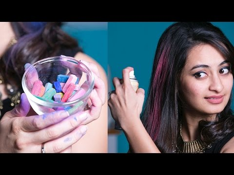 3 Hacks To Colour Your Hair Temporarily | Glamrs Hair Secrets