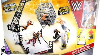 WWE Crash Cage Ring Playset with Triple H Toy Toys R Us Exclusive Unboxing, Construction & Review!!