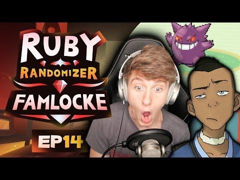 STAY WITH ME SOKKA! | Pokemon Ruby Randomizer Famlocke EP 14