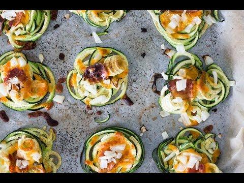 Keto Recipe - Crispy Zucchini Nests