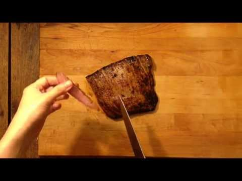 How To Cut Meat Against The Grain | Cooking Light