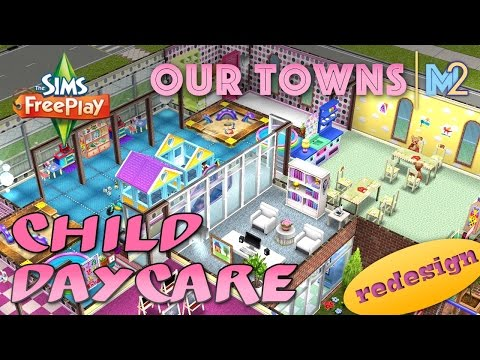 Sims FreePlay - Child Daycare Remodeled (Original House Design)