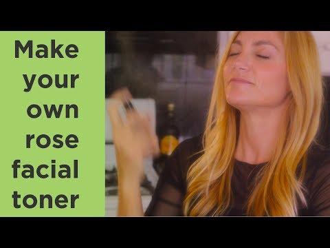 DIY Skin Toner Using Rose Water and Essential Oils