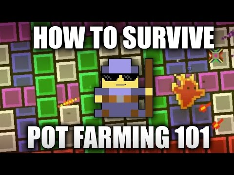 How To Survive ROTMG | Wizard Guide POT FARMING