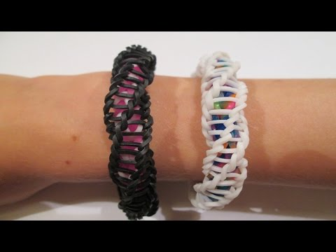 Rainbow Loom - Spirilla Bracelet (Variation of the