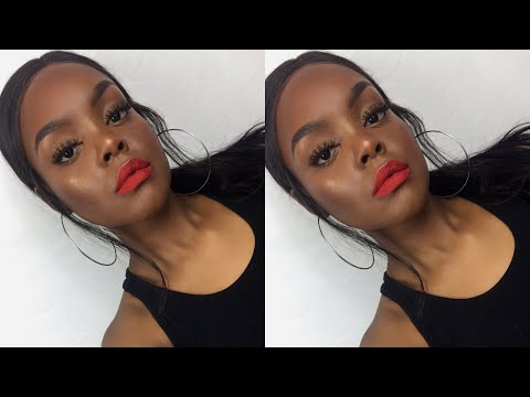Simple Red Lipstick Makeup Tutorial