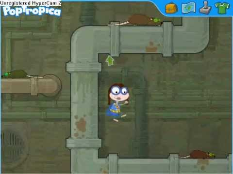 Poptropica-Super Power-Rat Man