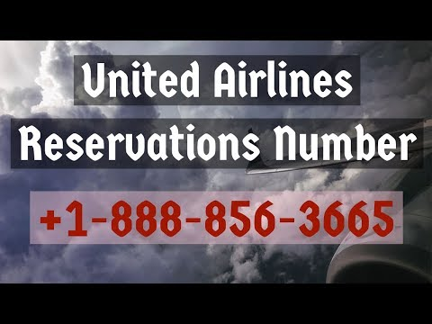 United Airlines Ticket Reservation Phone Number| Online Flight Booking
