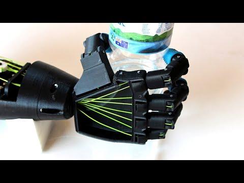 How I Designed & Built a Prosthetic Arm