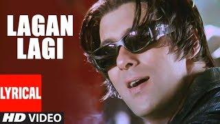 Lagan Lagi Lyrical Video   Tere Naam   Sukhwinder Singh   Salman Khan, Bhoomika Chawla