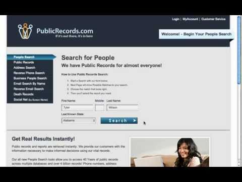 People Search - Find and Locate People with a Free Search