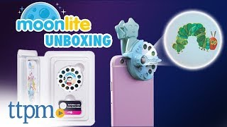 Unboxing   Moonlite Storytime Projector From Spin Master