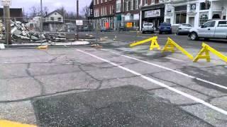 The Cleanup Begins in Garrettsville