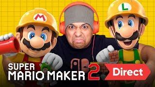 Download SUPER MARIO MAKER 2 DIRECT [LIVE REACTION] Video