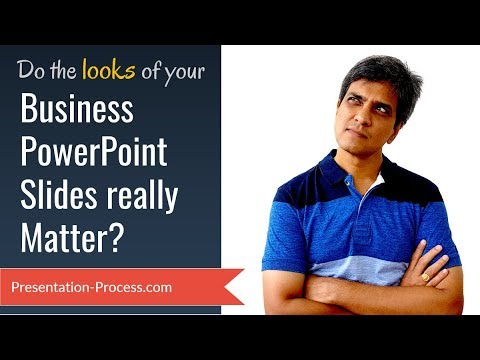Do the looks of your Business PowerPoint Slides really matter?