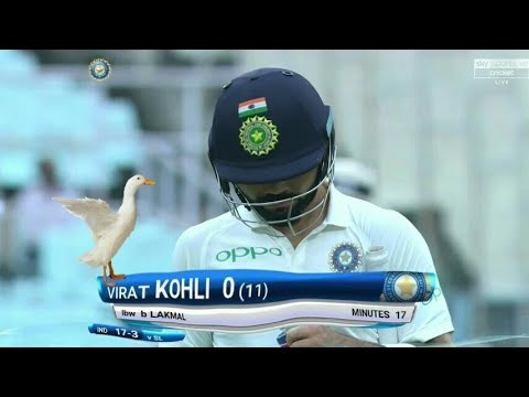 India vs Sri Lanka, 1st Test Day 1 Cricket Highlights | Virat Kohli Duck | IND vs Sl