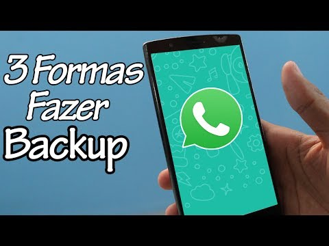 3 Formas de Fazer Backup do Whatsapp 2017